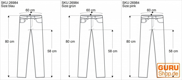 3/4 Batik Damen Leggings, Stretch Sporthose für Frauen, Yogahose - Vorschau 5