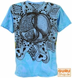 Mirror T-Shirt - Peace / blau - Vorschau 2