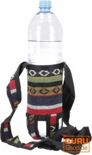 Wasserflaschen Tasche, Flaschenhalter Ethno - Modell 13