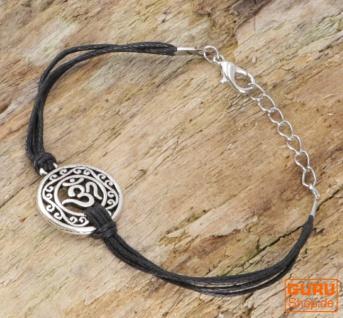 Ethno Armband OM - schwarz