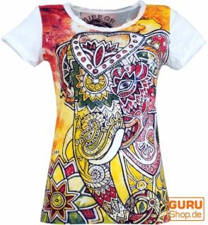 Mirror T-Shirt - Elefant / weiß