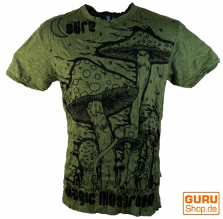Sure T-Shirt Magic Mushroom - olive