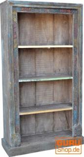 Aufwendig verziertes Bücherregal im Vintage Look - Modell 30