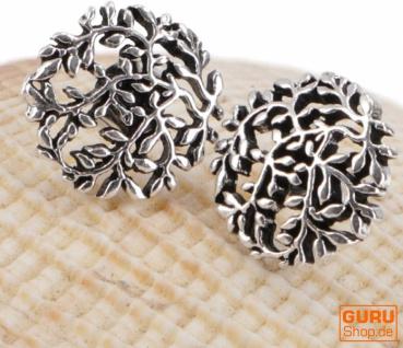Silberne Ohrringe, Ohrstecker aus Silber `Tree of Life`- Model 5