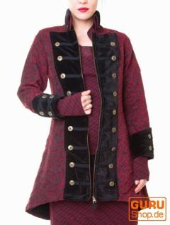Pullover aus Bio-Baumwolle / Chapati Design - burgundy