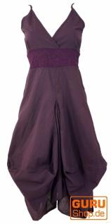 Langes Sommerkleid Hippie chic - violett
