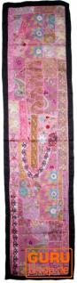 Orientalischer Tischläufer, Wandbehang, Einzelstück 150*35 cm - Motiv 3