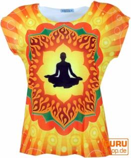 Psytrance T-Shirt, Yoga T-Shirt, Retro T-Shirt - Meditation Yogi
