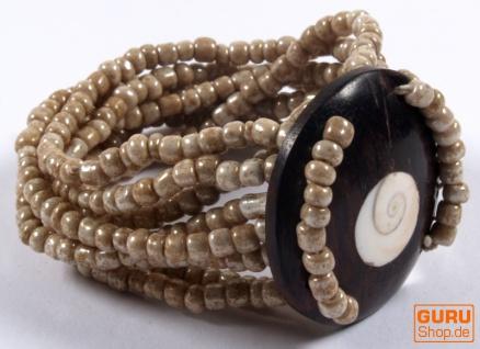 Shiva-Muschel Armband - Modell 3
