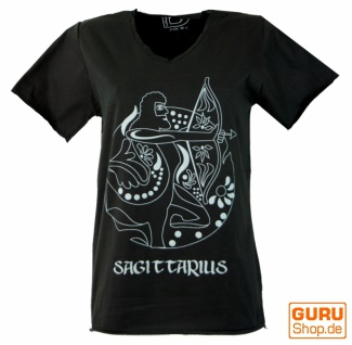 Sternzeichen T-Shirt `Schütze` - schwarz