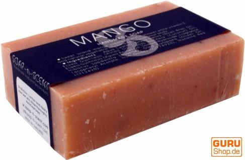 Handgemachte Duftseife, 100 g Fair Trade - Mango