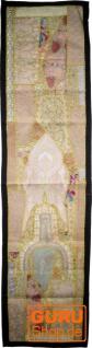 Orientalischer Tischläufer, Wandbehang, Einzelstück 150*35 cm - Motiv 5