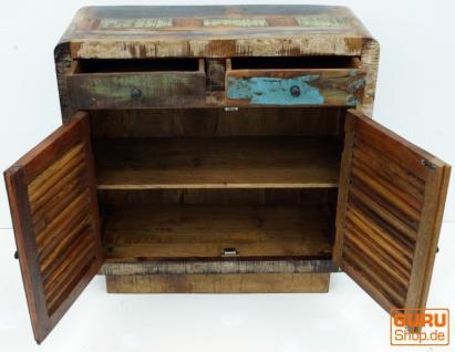 Massive Vintage Kommode, Highboard, Sideboard, Flurschrank - Modell 6 - Vorschau 3