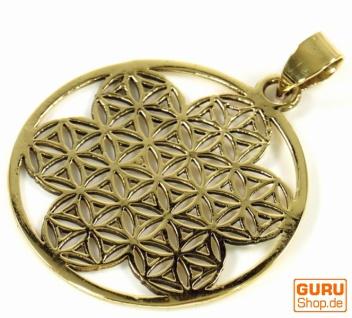Indisches`Flower of life` Amulett, Talisman Medaillon - Model 5 - Vorschau 3