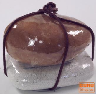 Seifenset Soap on the Rock, 90 g Seife auf Bimsstein, Fair Trade - Vanilla - Vorschau 2