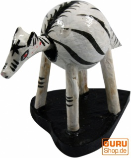 Wackelkopf Tier, Wackeltier - Zebra 1 - Vorschau