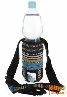 Wasserflaschen Tasche, Flaschenhalter Ethno - Model 5