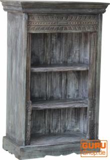 Aufwendig verziertes Bücherregal im Vintage Look - Modell 35