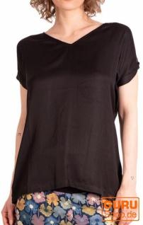 Blusen-Shirt, Bluse / Chapati Design - black