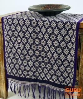 Traditionelles handgewebtes Ikat Tuch, Tischläufer, Tischdecke aus Sumba, 150 x 47cm