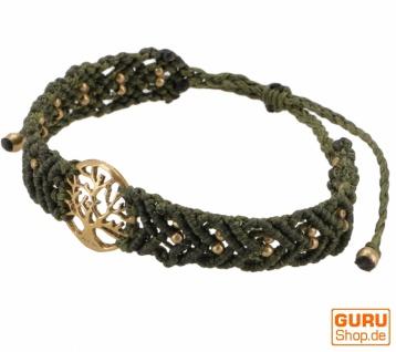 Goa Armband, Makramee, Festival Armband - Tree of life Modell 19