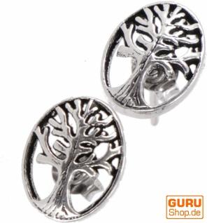 Silberne Ohrringe, Ohrstecker aus Silber `Tree of Life`- Model 4