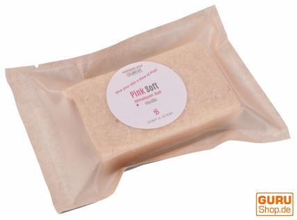 Handgemachte Duftseife mit Himalayasalz, 100 g Fair Trade - Pink Soft