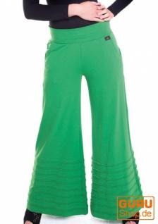Hose aus Bio-Baumwolle / Chapati Design - green