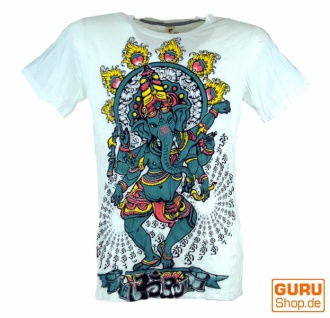 Baba T-Shirt - Ganesh / weiß