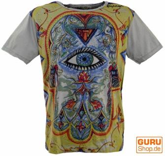 Mirror T-Shirt - Drittes Auge / grau
