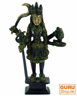 Messingfigur, Statue Kali 19 cm - Motiv 1