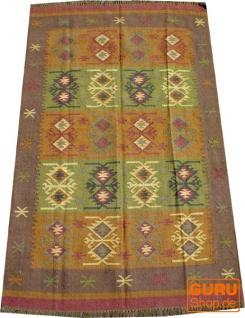 Orientalischer grob gewebter Kelim Teppich 250*150 cm - Muster 3