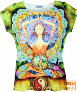 Psytrance T-Shirt, Yoga T-Shirt, Retro T-Shirt - Yogi