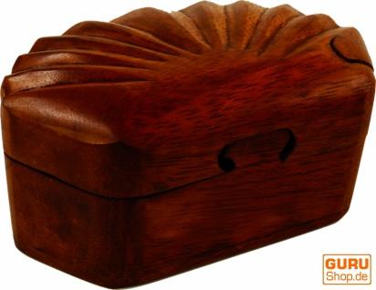 Puzzlebox, Schmuckschatulle, Magic Box, Schachtel mit Geheim Verschluß - Muschel