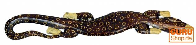 Wandgecko, Maske 100 cm naturbraun - Modell 4