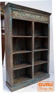 Aufwendig verziertes Bücherregal im Vintage Look - Modell 12