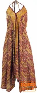 Boho Sommerkleid, Magic Dress, Maxirock, Midikleid, Strandkleid - rostrot