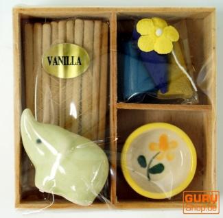 Räucher & Duftset - Vanilla