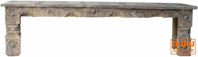 Antike Sitzbank, Flurbank, Küchenbank - Modell 1