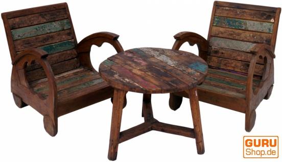 Tolles Möbelset, Sitzgruppe aus Recycleholz - Set 1