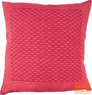 Kissenbezug Blockdruck, Dekokissen Bezug, Kissenhülle Ethno, Traditionelle Herstellung - Muster 14