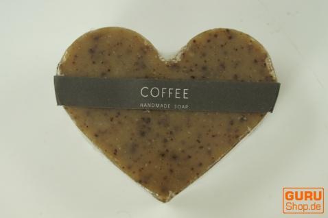Seifenset Heart on the Rock, 75 g Seife auf Bimsstein, Fair Trade - Coffee - Vorschau 3