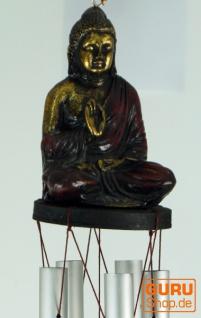 Klangspiel mit Buddha - rot
