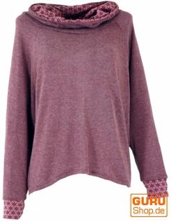 Hoody, Sweatshirt, Pullover, Kapuzenpullover - altrosa