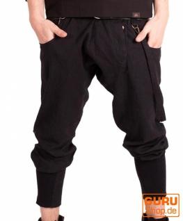 Hose aus Bio-Baumwolle / Chapati Design - black
