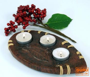 Kerzenhalter, Teelichthalter Keramik Nr.9 - Vorschau 1