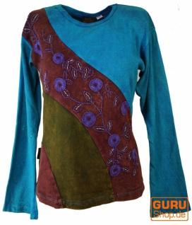 Goa Langarmshirt Stonewash 6