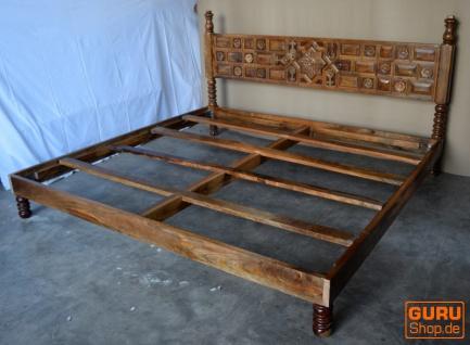Bett, Schlafzimmer, Kolonialstil Indien