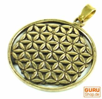 Indisches`Flower of life` Amulett, Talisman Medaillon - Modell 1