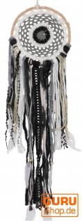 Traumfänger - natur/schwarz 16 cm